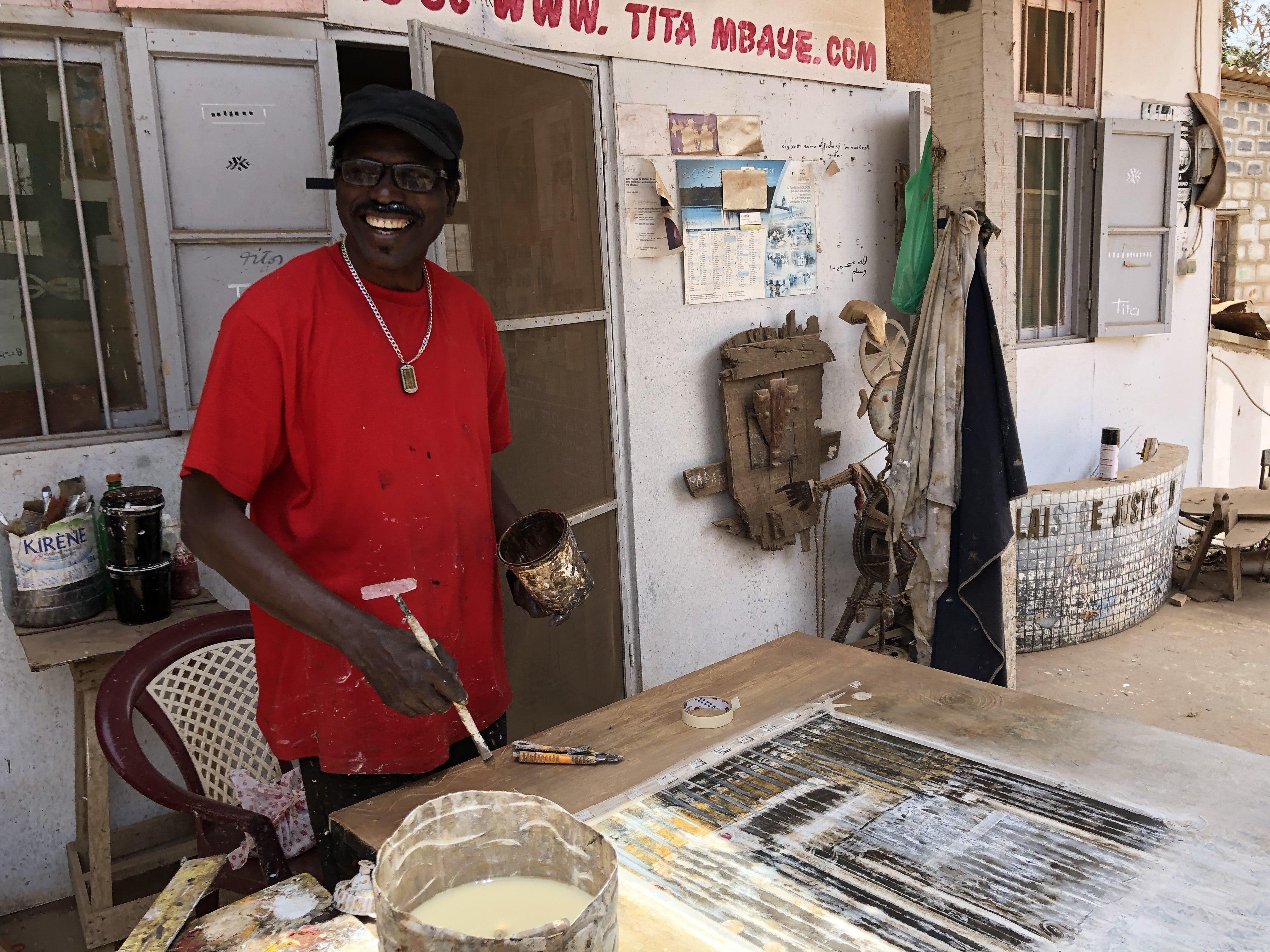 Kunst in Dakar